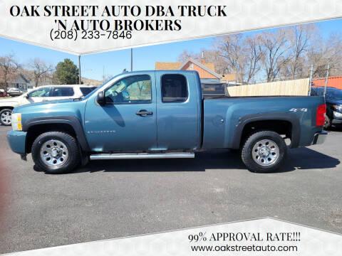 2008 Chevrolet Silverado 1500 for sale at Oak Street Auto DBA Truck 'N Auto Brokers in Pocatello ID