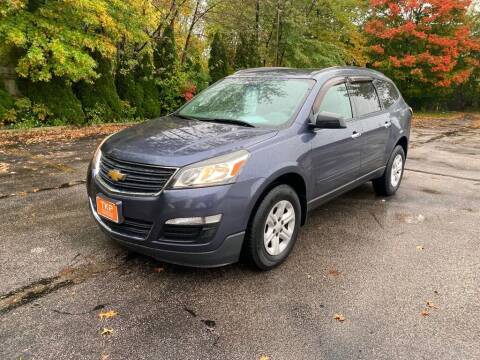 2013 Chevrolet Traverse for sale at TKP Auto Sales in Eastlake OH
