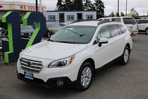 2017 Subaru Outback for sale at BAYSIDE AUTO SALES in Everett WA
