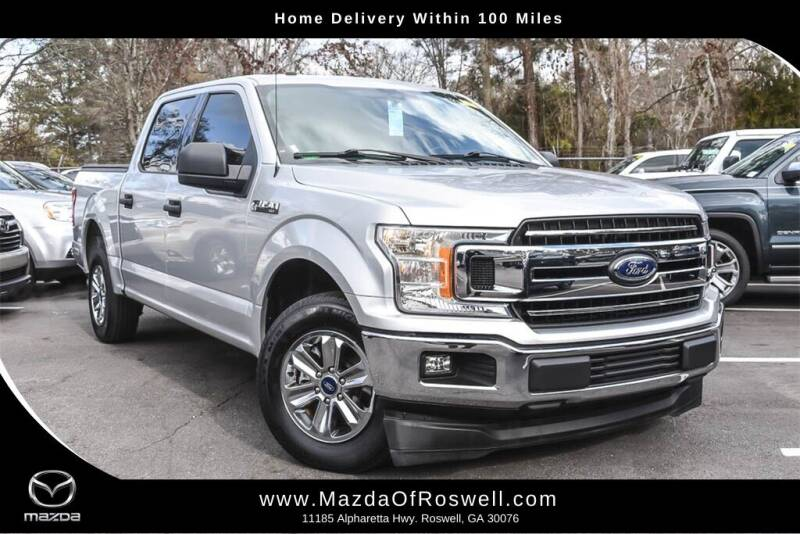 2018 Ford F-150 for sale at Mazda Of Roswell in Roswell GA
