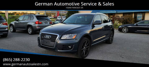 2011 Audi Q5 for sale at German Automotive Service & Sales in Knoxville TN