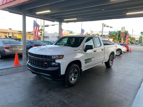 2019 Chevrolet Silverado 1500 for sale at American Auto Sales in Hialeah FL