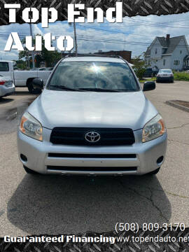 2007 Toyota RAV4 for sale at Top End Auto in North Attleboro MA