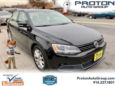 2014 Volkswagen Jetta for sale at Proton Auto Group in Yonkers NY