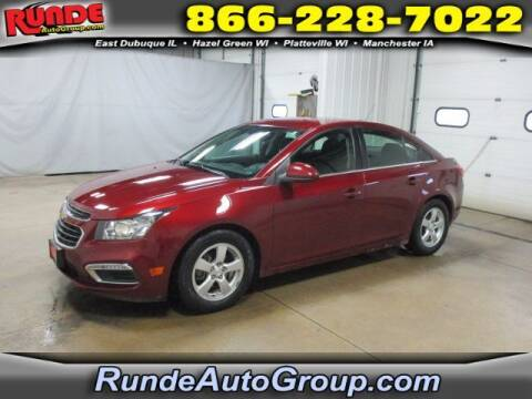 2015 Chevrolet Cruze for sale at Runde Chevrolet in East Dubuque IL