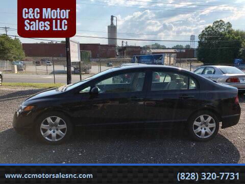 2006 Honda Civic for sale at C&C Motor Sales LLC in Hudson NC