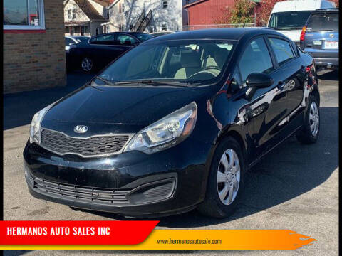 2013 Kia Rio for sale at HERMANOS AUTO SALES INC in Hamilton OH