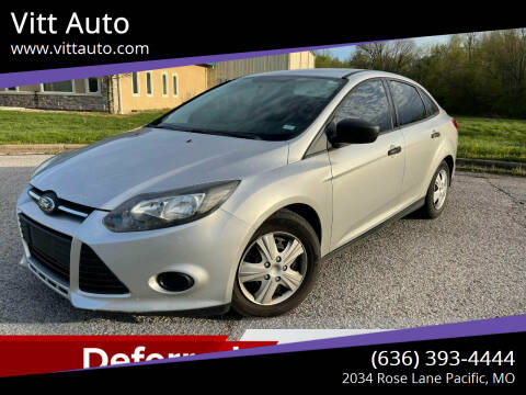 2012 Ford Focus for sale at Vitt Auto in Pacific MO