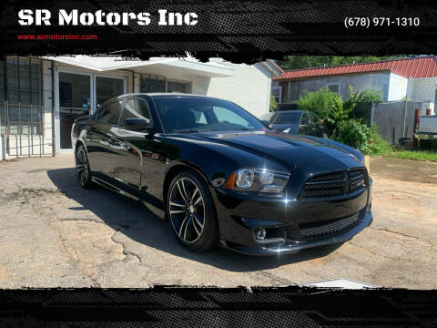 2013 Dodge Charger for sale at SR Motors Inc in Gainesville GA
