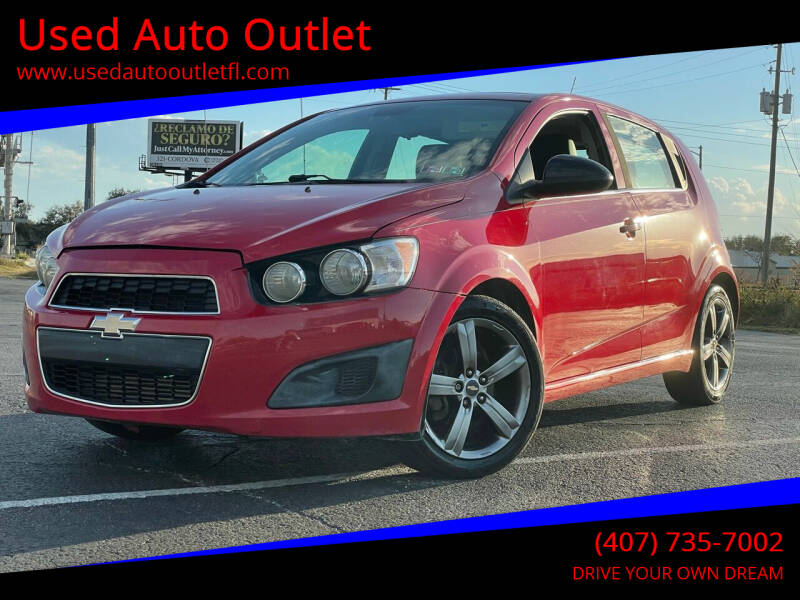2013 Chevrolet Sonic for sale at Used Auto Outlet in Orlando FL