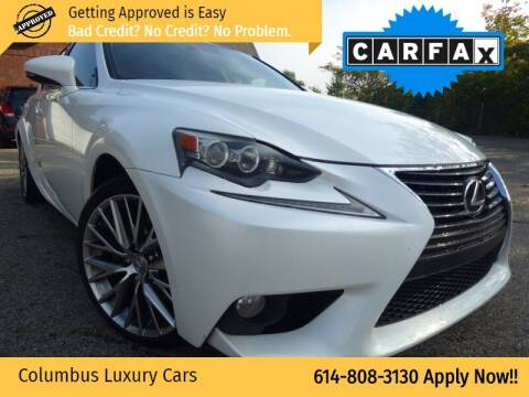 2014 Lexus IS 250 for sale at Columbus Luxury Cars in Columbus OH