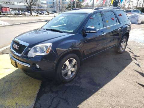 2012 GMC Acadia for sale at G&K Consulting Corp in Fair Lawn NJ