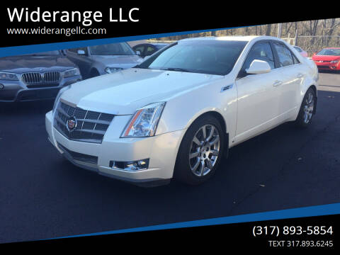 2009 Cadillac CTS for sale at Widerange LLC in Greenwood IN