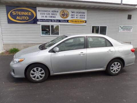 2011 Toyota Corolla for sale at STEINKE AUTO INC. - Steinke Auto Inc (South) in Clintonville WI
