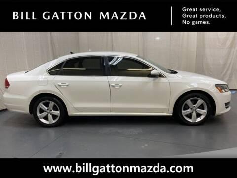 2013 Volkswagen Passat for sale at Bill Gatton Used Cars - BILL GATTON ACURA MAZDA in Johnson City TN