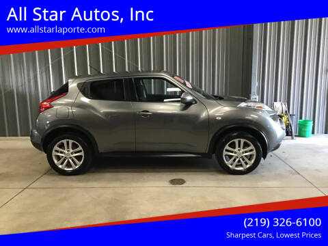 2011 Nissan JUKE for sale at All Star Autos, Inc in La Porte IN