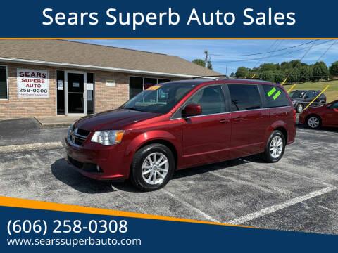 2018 Dodge Grand Caravan for sale at Sears Superb Auto Sales in Corbin KY
