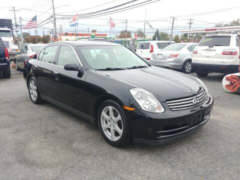 2003 Infiniti G35 for sale at Viking Auto Group in Bethpage NY
