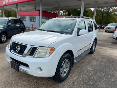 2008 Nissan Pathfinder for sale at Baton Rouge Auto Sales in Baton Rouge LA