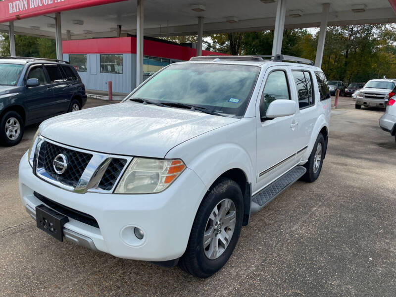 2008 Nissan Pathfinder for sale at Baton Rouge Auto Sales in Baton Rouge LA