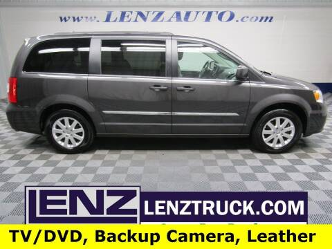 2015 Chrysler Town and Country for sale at LENZ TRUCK CENTER in Fond Du Lac WI