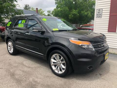 2013 Ford Explorer for sale at Crown Auto Sales in Abington MA