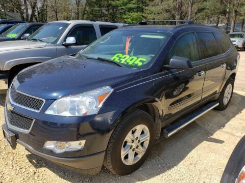 2012 Chevrolet Traverse for sale at Northwoods Auto & Truck Sales in Machesney Park IL