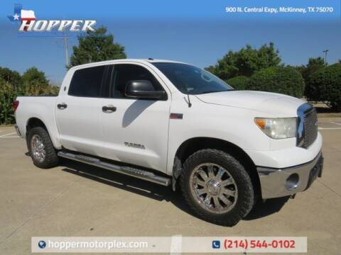 2012 Toyota Tundra for sale at HOPPER MOTORPLEX in Mckinney TX