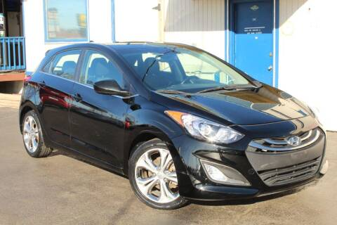 2013 Hyundai Elantra GT for sale at Dynamics Auto Sale in Highland IN