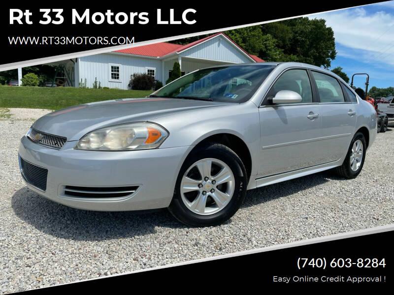 2013 Chevrolet Impala for sale at Rt 33 Motors LLC in Rockbridge OH