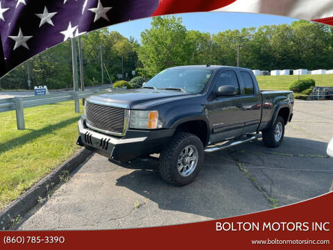 2010 GMC Sierra 2500HD for sale at BOLTON MOTORS INC in Bolton CT