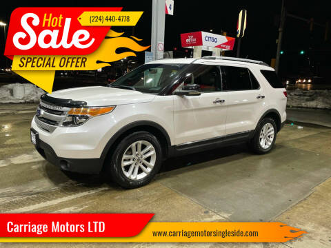 2011 Ford Explorer for sale at Carriage Motors LTD in Ingleside IL