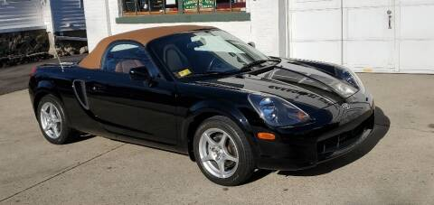 2001 Toyota MR2 Spyder for sale at Carroll Street Auto in Manchester NH