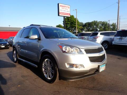2011 Chevrolet Traverse for sale at Marty's Auto Sales in Savage MN
