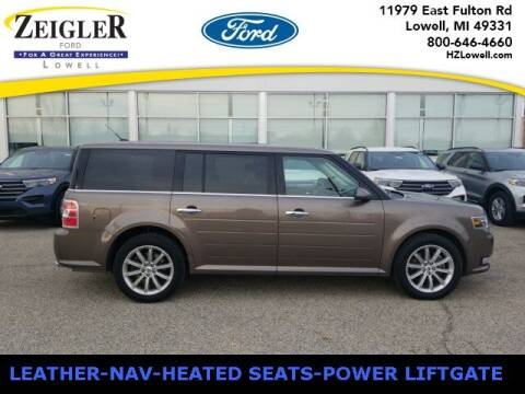 2019 Ford Flex for sale at Zeigler Ford of Plainwell- michael davis in Plainwell MI