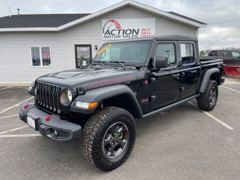 2021 Jeep Gladiator for sale at Action Motor Sales in Gaylord MI