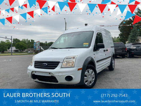 2013 Ford Transit Connect for sale at LAUER BROTHERS SOUTH in York PA