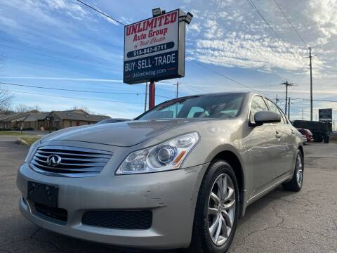 2008 Infiniti G35 for sale at Unlimited Auto Group in West Chester OH