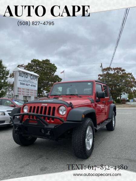 2010 Jeep Wrangler Unlimited for sale at Auto Cape in Hyannis MA