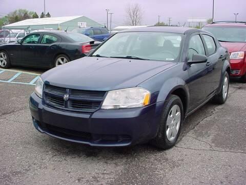 2008 Dodge Avenger for sale at VOA Auto Sales in Pontiac MI