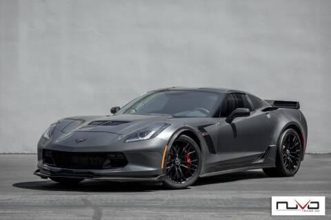2017 Chevrolet Corvette for sale at Nuvo Trade in Newport Beach CA