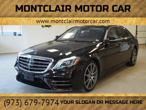 2018 Mercedes-Benz S-Class for sale at Montclair Motor Car in Montclair NJ