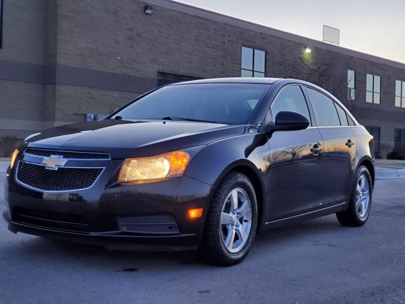 2012 Chevrolet Cruze for sale at FRESH TREAD AUTO LLC in Springville UT