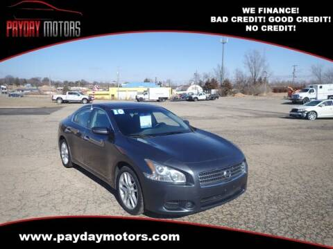 2010 Nissan Maxima for sale at Payday Motors in Wichita And Topeka KS