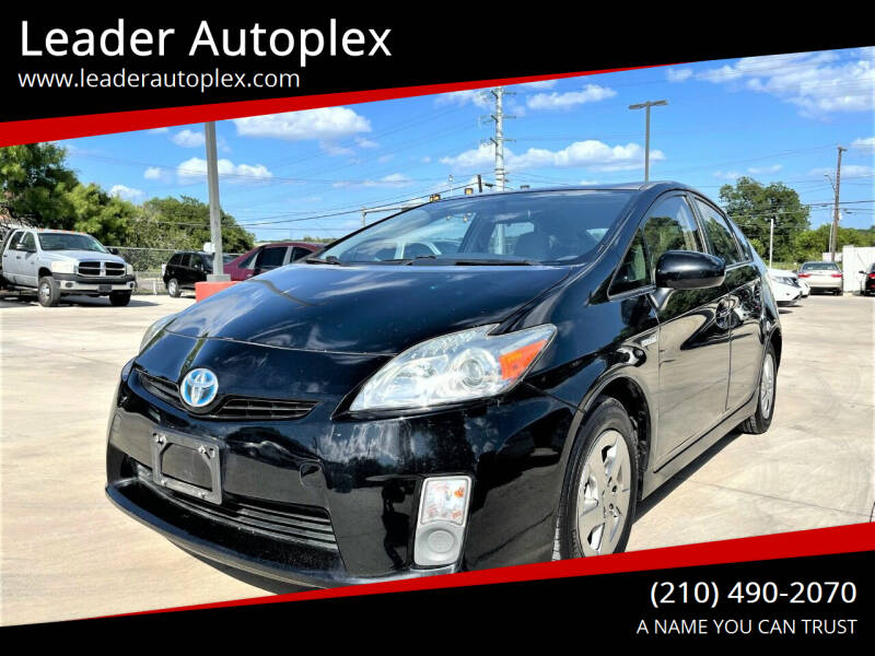 2010 Toyota Prius for sale at Leader Autoplex in San Antonio TX