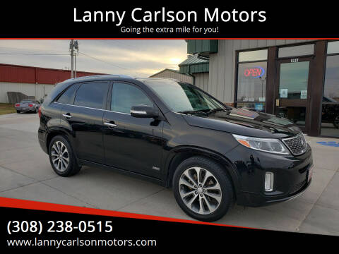 2014 Kia Sorento for sale at Lanny Carlson Motors in Kearney NE