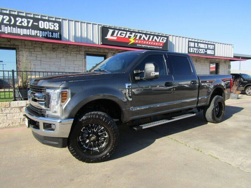 2018 Ford F-250 Super Duty for sale at Lightning Motorsports in Grand Prairie TX