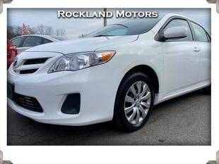 2012 Toyota Corolla for sale at Rockland Automall - Rockland Motors in West Nyack NY
