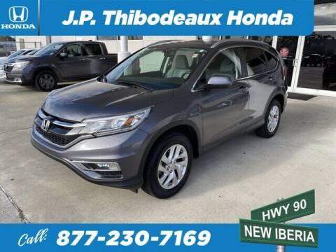 2016 Honda CR-V for sale at J P Thibodeaux Used Cars in New Iberia LA