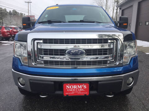 2013 Ford F-150 for sale at NORM'S USED CARS INC in Wiscasset ME